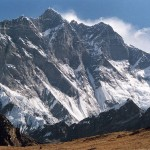 Eight Thousander Lhotse Peak