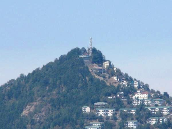 Prospect Hill in Shimla, <a href=