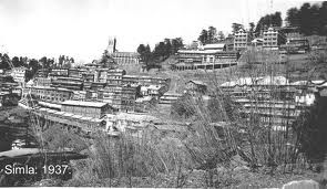 The changing faces of Shimla, a pictorial tribute