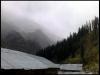Towering mountains around Kheer Ganga
