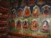 Wall paintings at Pin Monastery