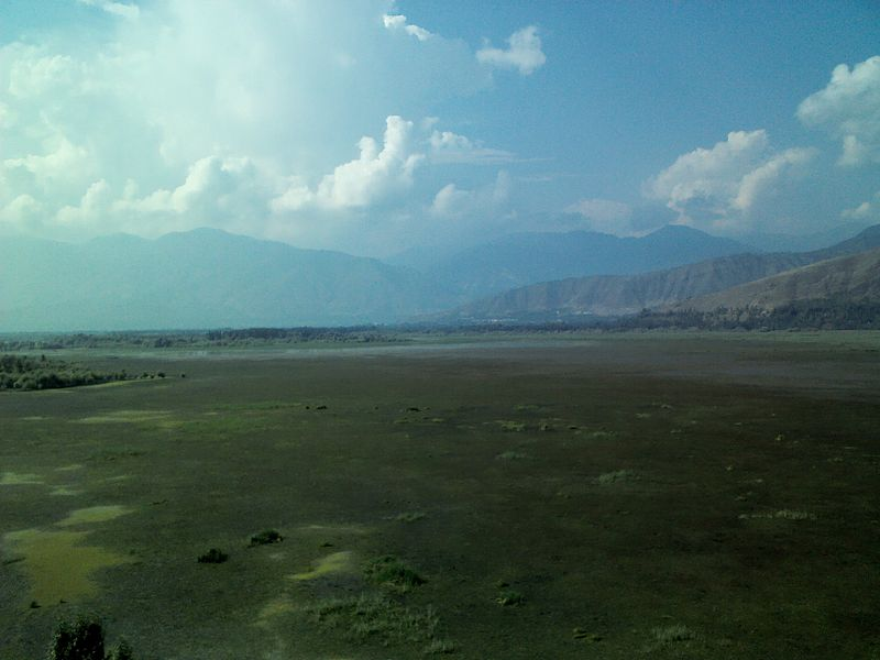 Wular lake from Saderkote park
