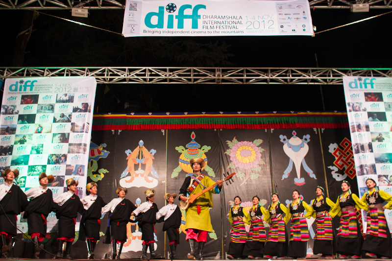 Tibetan Folk Performers - Dharamshala International Film Festival
