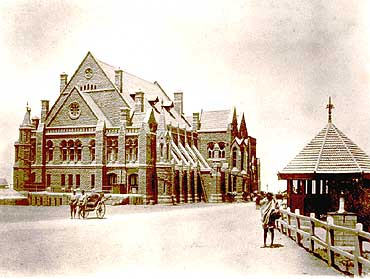 Old Gaiety Theater in Shimla - British Era